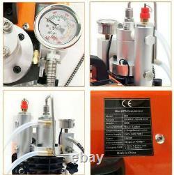 High Pressure Air Pump Electric PCP Compressor for Airgun Scuba Rifle 30MPA 110V