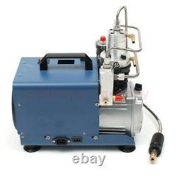 High Pressure PCP Air Compressor Electric Air Pump Pressure Preset 30Mpa 13.2GPM