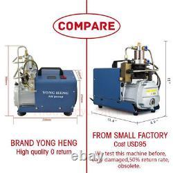 High Pressure PCP Electric Compressor Air Pump 300BAR 4500PSI Scuba 220V 30Mpa