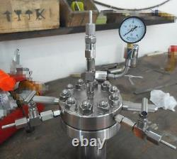 High pressure Hydrothermal Autoclave Reactor 500ml 380 22Mpa customizable t