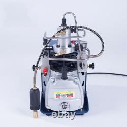 New 30MPa High Pressure 4500PSI PCP Electric Air Compressor Air Pump System 220V