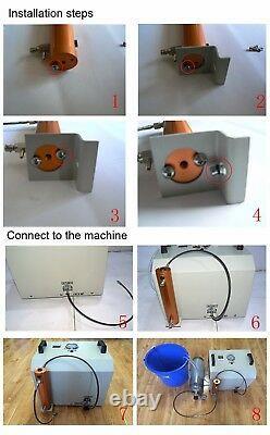 PCP Air Compressor Water-Oil Separator Filter 30Mpa High Pressure Pump Diving
