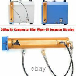 PCP Compressor Oil-Water Separator Air Filter High Pressure 30Mpa 300bar 4500PSI