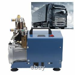 PCP Electric Air Compressor Pump High Pressure Electric 30Mpa/4500psi 1800W Blue
