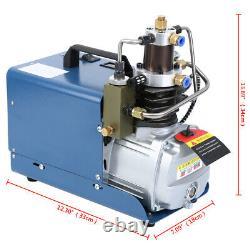 Ridgeyard Air Compressor Pump PCP Electric High Pressure System 0-30MPa 1.8KW UK