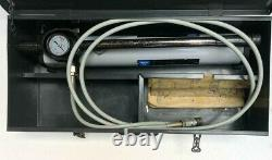 SKF 728619 HIGH PRESSURE HYDRAULIC HAND PUMP 150 MPa/ 1500 BAR WITH HOSE (4)