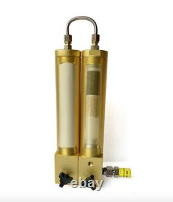 TUXING 30Mpa High Pressure Air Filter External Oil-Water Separator Two Stage Fil