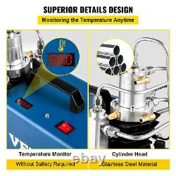 VEVOR 30MPA High Pressure Compressor 4500PSI Air Rifle Compressor Automatic Stop