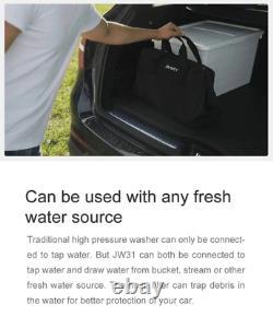 Wireless Handheld JIMMY JW31 Automobiles Wash Gun High Pressure 2.2 MPa Car Wash