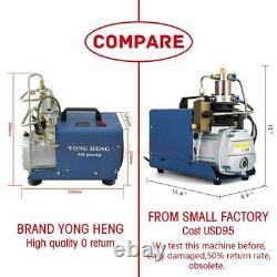 YONG HENG 30MPA 4500PSI High Pressure Air Compressor PCP Airgun Scuba Air Pump