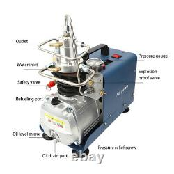 Yong Heng 30MPa High Pressure Air Pump Auto Shutdown Air Pump EU Plug 4500PSI