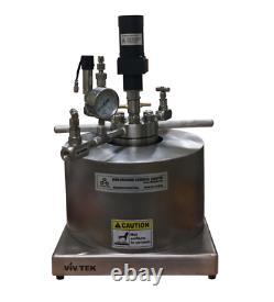 100ml 20mpa Magnétique Couplé Stirred High Pressure Reactor