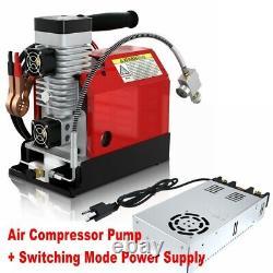 12v 30mpa Pompe Compresseur D'air De Voiture 4500psi Pcp Système Électrique À Haute Pression