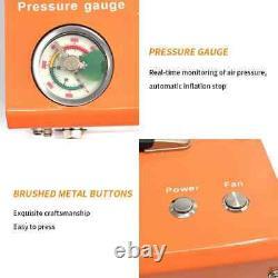 12v Portable 30mpa 4500psi Pompe À Air Haute Pression Scuba Pcp Compresseur Auto-stop