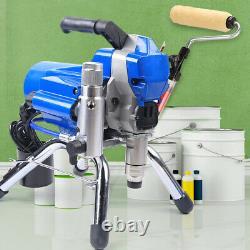 2200w Pulvérisateur Mural Pulvérisateur Airless Pulvérisateur À Haute Pression 23mpa