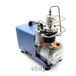 220v 30mpa 4500psi Pcp Pompe À Air Électrique Compresseur D'air De Boule De Peinture Haute Pression