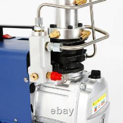 220v 30mpa Air Compressor Pump Pcp Electric High Pressure System Réglez La Pression