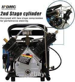 220v 4500psi Compresseur D'air Pcp Haute Pression 30 Mpa Pour Airgun Paintball Refil