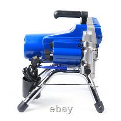 220v Haute Pression 2200w 1.8l / Min Pistolet À Peinture Machine Airless Mur Bricolage 23mpa