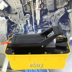 3/8 Npt Pompe À Pied Hydraulique À Action Unique 2.3l Pedale De Réservoir Haute Pression 700mpa