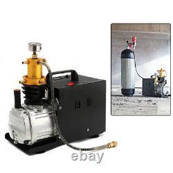 300bar 30mpa 1.8kw Pompe À Air Électrique Pcp Compresseur D'air Aintball Haute Pression