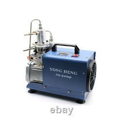 300bar 30mpa 1.8kw Pompe À Air Électrique Pcp Compresseur D'air De Boule De Peinture Haute Pression