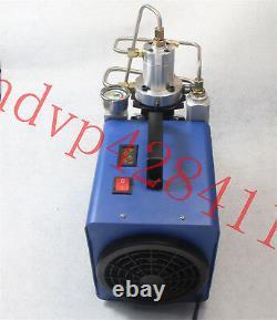 30mpa 50l/min Système Électrique À Haute Pression Rifle Pompe À Compresseur D'air 220v