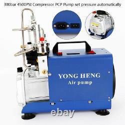 30mpa Pcp Electric 4500psi Pompe À Compresseur D'air Haute Pression Peut Set Pression