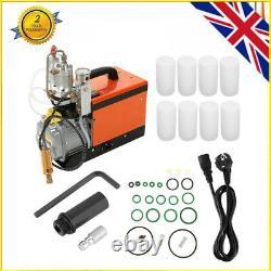 30mpa Pompe De Compresseur D'air 220v Pc Electric High Pressure System Rifle Uk Plug