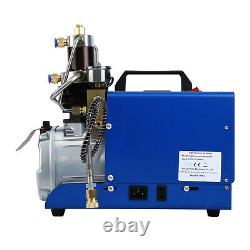 4500psi Pompe À Compresseur D'air Pcp Système Électrique À Spiral Haute Pression 0-30mpa