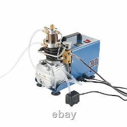 Amplifié 30mpa 1800w Compresseur D'air Pompe Airsoft Paintball Airgun Haute Pression