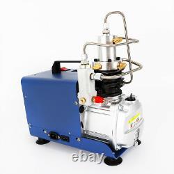 Arrêt Automatique 220v Haute Pression 30mpa Compresseur D'air Électrique Refroidi À L'eau Pompe Pcp