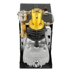 Arrêt Automatique 220v Haute Pression 40mpa Pompe À Air Électrique Refroidie À L'eau Compresseur De Voiture
