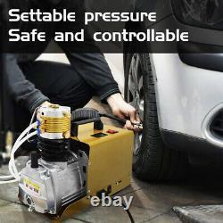 Compresseur D'air 30mpa Auto Stop Pcp Airgun Pump Electric 4500psi Haute Pression