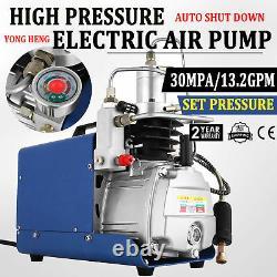 Compresseur D'air Pcp Haute Pression Pompe À Air Électrique Préréglage De Pression 30mpa 13.2gpm