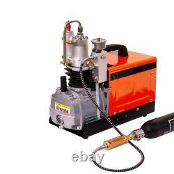 Compresseur Électrique Haute Pression Pompe À Air Pcp 30mpa 4500psi 220v Ensemble De Pression