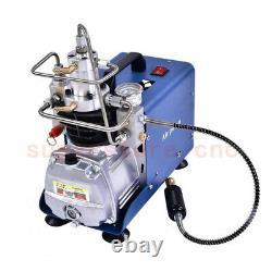 Compresseur Pcp Électrique Haute Pression 30mpa Et Filtre À Pompe À Air Séparateur D'huile D'eau