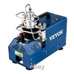 Compresseur Vevor 30mpa Compresseur Haute Pression 4500psi Compresseur D'air Rifle Stop Automatique