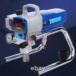 H680 Pulvérisateur À Haute Pression Pulvérisateur À Air Sans Pulvérisateur De Peinture Murale Pistolet 22mpa
