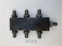 Haute Pression 1800 Bar 180 Mpa Distributeur Hydraulique/ Manifestant 7-port