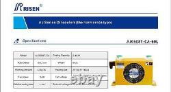 Nouveau Refroidisseur À Huile Hydraulique Dc24v (aj-0608t)