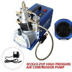 Nouvelle Pompe À Compresseur D'air Haute Pression 30mpa 300 Bar 4500psi Séparateur Eau/huile