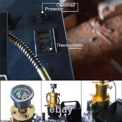 Pcp 300bar 30mpa 4500psi Pompe À Air Électrique Compresseur D'air Aintball Haute Pression