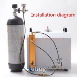 Pcp Compresseur Huile-eau Séparateur Filtre D'air Haute Pression 30mpa 300bar 4500psi
