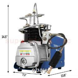 Pompe À Air Compresseur De Pcp Haute Pression Électrique 30mpa 300bar 4500psi Plongée Sous-marine