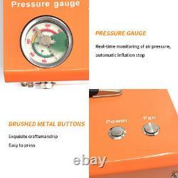 Pompe À Air Haute Pression 12v Compresseur De Pc De Plongée Auto-stop 110/220v 30mpa 4500psi