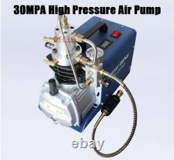 Pompe À Air Haute Pression Compresseur D'air Pcp Électrique Pour Airgun Scuba Rifle 30mpa