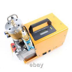 Pompe À Air Haute Pression Professionnelle Pcp 30mpa 4500psi Compresseur D'air Électrique