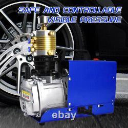 Pompe À Compresseur D'air 30mpa 1800w Cp Airsoft Paintball Airgun Haute Pression 220v
