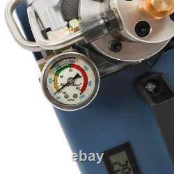 Pompe À Compresseur D'air 30mpa Pcc Système Électrique Haute Pression Rifle 50l/ 220v Uk